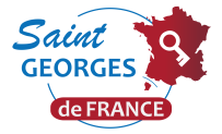 """Bonjour et bienvenue - Vous êtes """"ici"""" au bon endroit pour suivre les St-Georges-de-France"""